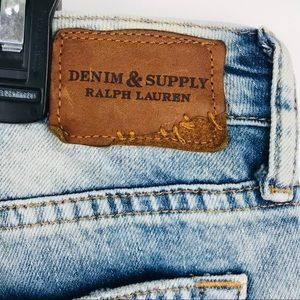 Ralph Lauren denim skinny boyfriend holie jeans